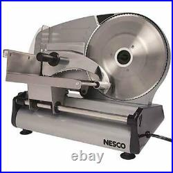 Electric Meat Food Slicer Stainless Steel Vegetable Chopper Cutter Machine 180W