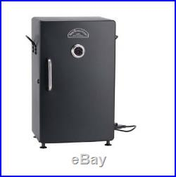 Electric Smoker Barbecue Grill Outdoor Meat Cooker Sturdy Steel Adjustable Cooki