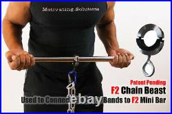 F2 IsoResistance Portable Gym for Isometric Bar and Resistance Band Training