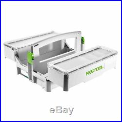 Festool 499901 SYS-Storage T-Loc Portable Systainer with 5 Adjustable Containers
