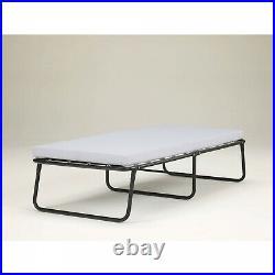 Folding Bed Memory Foam Mattress Roll Away Guest Portable Sleeper Cot Single NEW
