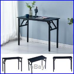 Folding Computer Desk Portable Adjustable Laptop Table Home Office Workstation