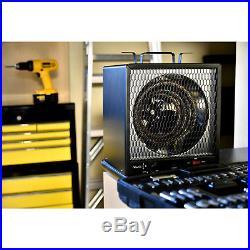 Garage Heater Electric 5600 Watt 120V Adjustable Portable Indoor Durable Steel