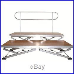 Global Truss Gt Stage1.2 3.28Ftx6.56Ft Adjustable Portable Stage With X Support