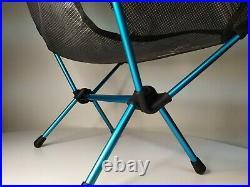 Helinox Chair Zero Black Portable Folding Camp Chair Ultralight 1.1lb