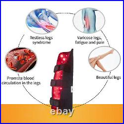 Infrared Therapy Red Light Legs Pad Wrap Joint Muscle Pain Relief Calf Massager