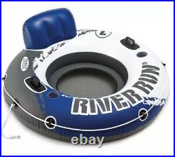 Intex River Run 1 Inflatable 53 Blue River Tube Raft Lake Beach Pool Sale