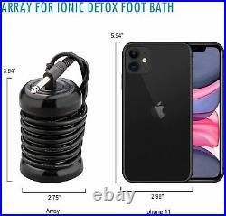 Ionic Foot Detox Machine, Health Care Portable Kit, With Tub Array Bag Waist 803#