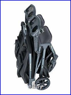 Joovy 8232 Kooper X2 Double Folding Adjustable Recline Portable Stroller, Olive