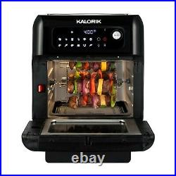 Kalorik 10 Quart Air Fryer Oven, Black