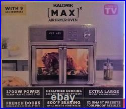 Kalorik 26-qt. Digital MAXX Air Fryer Toaster Oven As Seen on TV New