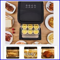 Large Air Fryer XXL 1700W 14 QT Oven Digital Screen Hot Air Fryer Cooker New