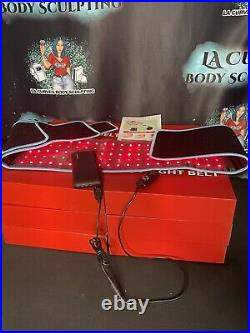 Laser Lipo Belt LED Red Light Therapy Belt Pain Relief Weight Loss Joint Pain