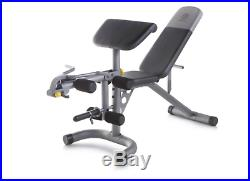 Leg Curl/Extension Bench Adjustable Weight Lifting Dumbbell Portable Adjustable