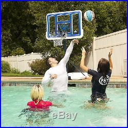 Lifetime Pool Height Adjustable Portable Basketball Rim 44 In Backboard Hoop
