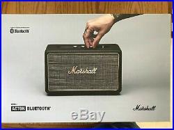 Marshall Acton Portable Bluetooth Speaker Bass & Treble adjust BLACK 04091802