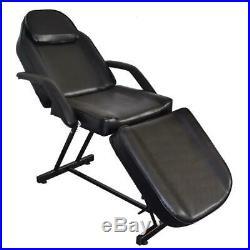 Massage Facial Bed Beauty Salon Table Stool Set Tattoo Chair Adjust Equipment