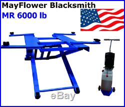 Mayflower Blacksmith Portable Mid Rise Scissor Car Truck Lift 6000 lb MR 6000