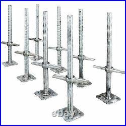 Metaltech 24in. Adjustable Leveling Jack 8-Pk, Model# M-MBSJP24HK8