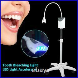 Mobile Dental Teeth Whitening LED Lamp Light Bleaching Accelerator Wheel 220V