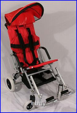 New Child/Adult Special Needs Pediatric Stroller Wheelchair 16/18 seat, canopy