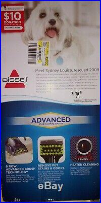 New Never Used Bissell Pro Heat Pet Advanced Deep Cleaning System 011120230758