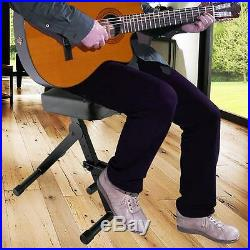 New PKST70 Musician & Performer Chair Seat Stool, Durable, Portable, Adjustable