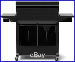 Nexgrill Deluxe 6-Burner Propane Gas Grill in Black Side Burner Adjustable New