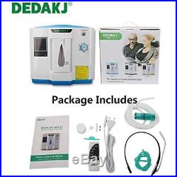 Oxygen Concentrator, 1-6L/min Adjustable Portable Machine For Home Travel Use