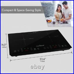 PKSTIND48 Induction Cooktop Digital Countertop Burner with Adjustable Temp Control
