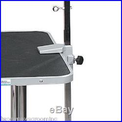 PRO DOG GROOMER OVERHEAD ARM&CLAMPS& 2 LOOPS RESTRAINT SYSTEM For Grooming Table