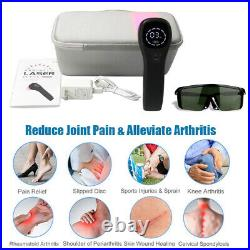 Pain Relief Cold Laser Therapy Device LLLT Red Light Treatment 650nm + 808nm NIR