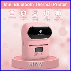 Phomemo M110 Label Printer Portable Bluetooth Thermal Label Maker Android / iOS