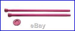 Pink Fitness Portable Dance Pole Kit Stripper Strip Adjustable Dancing Static