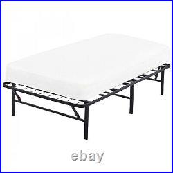Platform Bed (Frame ONLY) for Twin XL Mattress Metal High 14 Portable Folding