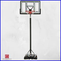 Portable Basketball Hoop 46 Adjustable to 10 Feet Outdoor Sport Brand New