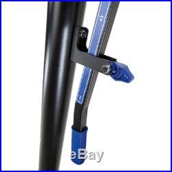 Portable Basketball System Hoop Adjustable 48-In. Backboard Pole Goal Shatterpro