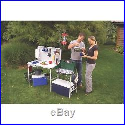 Portable Camping Kitchen Wash Sink Prep Table Hanger Pack-Away Camp Outdoor Gear