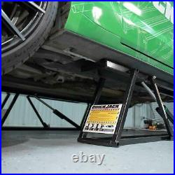 Portable Car Lift 5000 Lbs Capacity Quick Jack Hydraulic Vehicle Lifting System