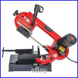 Portable Cutting Band Saw Adjustable Angle Pivoting Head 2 Speed Metal Steel NEW