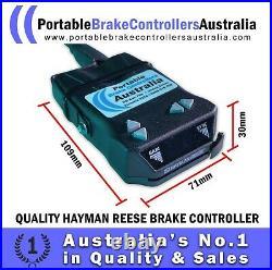 Portable Electric Brake Controller with Adjustable Controller Holder Mount