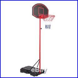 Portable Hoop Backboard Youth Basketball Court Goal Hoop Pool Indoor Adjustable