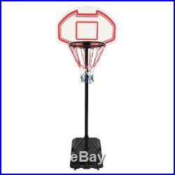 Portable Indoor Kids Youth Basketball Backboar Court Goal Hoop Adjustable Rim