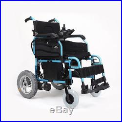 Portable Lithium Electric Wheelchair Foldable travel&Home use Adjustable Armrest