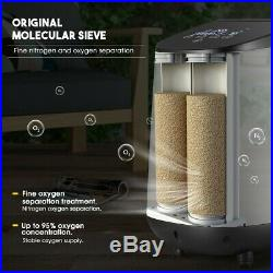 Portable Oxygen Generator Machine Adjustable Home Air Purifier Clear viruses