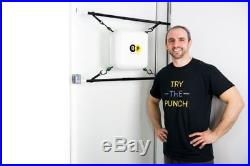 Portable Punching Bag Home Boxing Double End Doorway Adjustable Quiet Punch Gym