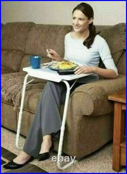 Portable Tv Dinner Laptop Tray Adjustable Folding Table Desk Sofa Bed Gift