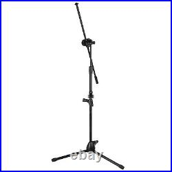 Professional Portable Height Adjustable Boom Mic Holder Studio Tripod Stand Mic