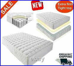 Queen Size Mattress 8 Inch Bed Foam Innerspring Cushion Comfortable Coil Firm