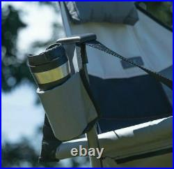 Rio Outdoor Swinging Swing Portable Compact Hammock Camping Garden Chair Grey
